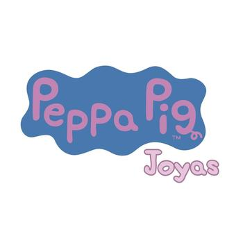 PENDIENTES PEPPA PIG® PLATA 925 RODIADA DAY BY DAY